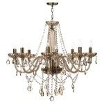Dar Lighting Raphael 8 light chandelier RAP0806