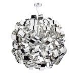 Dar Lighting Rawley 12lt pendant chrome RAW1255