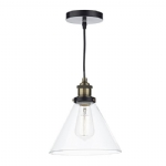 Dar Lighting Ray 1lt pendant RAY0175