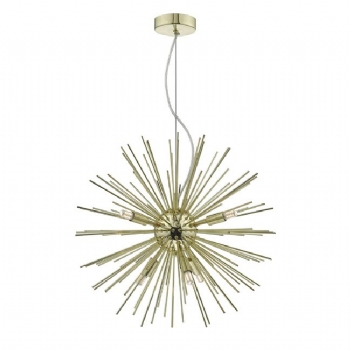 Dar Lighting Sagan 6lt pendant SAG0635