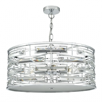Dar Lighting Seville 6lt pendant SEV0650