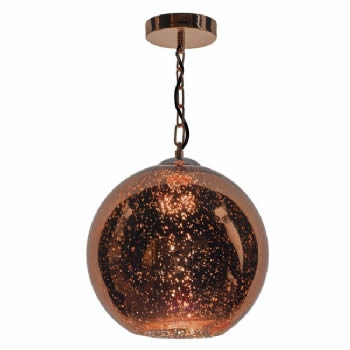 Dar Lighting Speckle 1lt pendant SPE0164