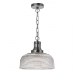 Dar Lighting Tack 1lt pendant TAC0161
