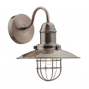 Dar Lighting Terrace wall light copper ter0764