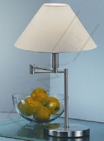 Franklite TL707 swing arm table lamp