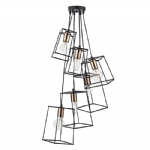 Dar Lighting Tower 6lt cluster pendant TOW0622