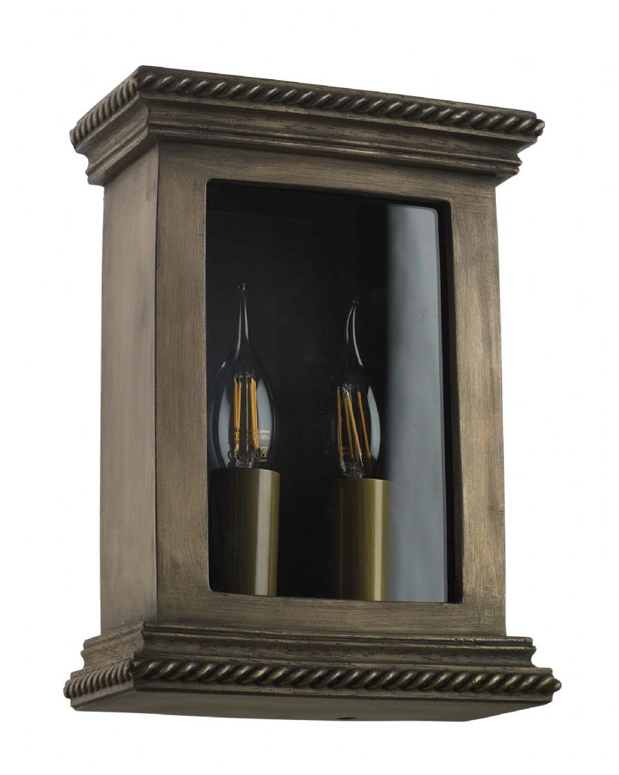David Hunt Truro Outdoor Wall Light Bronze TRU2163