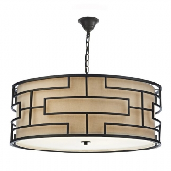 Dar Lighting Tumola 6lt Pendant TUM0663