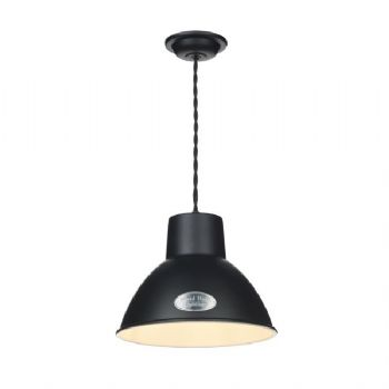 David Hunt Utility small pendant black uti8622