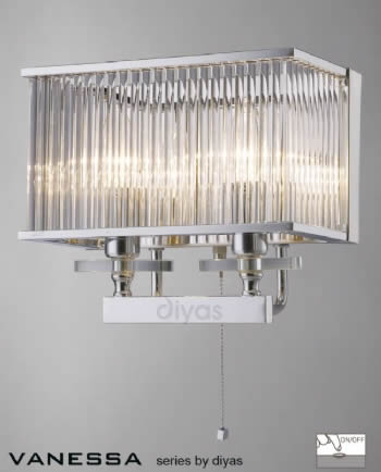 Diyas Vanessa wall light IL31410