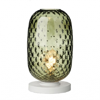 David Hunt Vidro table lamp green vid4324