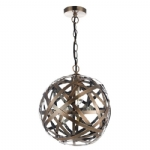 Dar Lighting Voyage 1lt ball pendant VOY0164