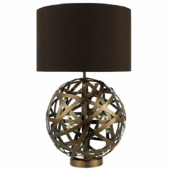 Dar Lighting Voyage Table Lamp VOY4264