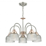 Dar Lighting Wharfdale 5lt pendant WHA0546
