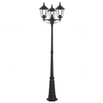 Endon Lighting YG-3012 three headed outdoor lamp post